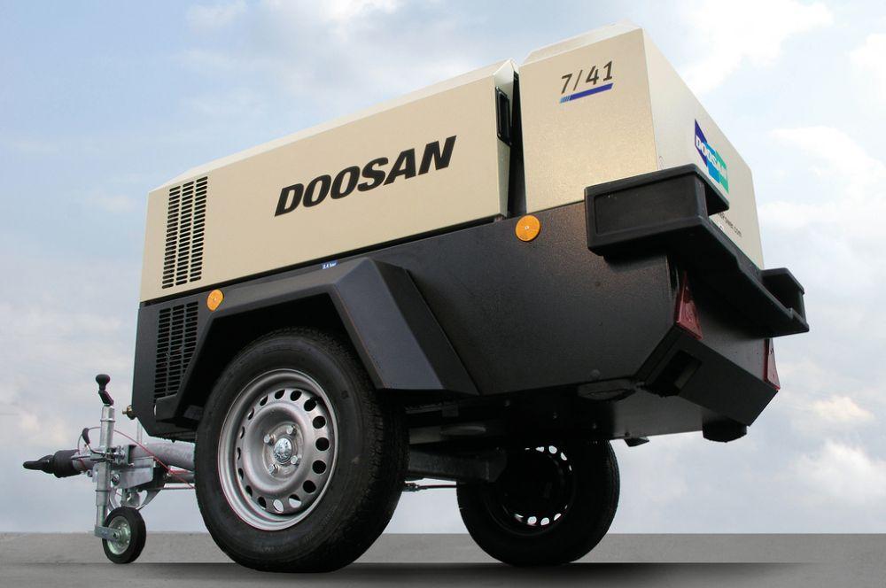 Eladó Doosan 7/41-es kompresszor gyári garanciával