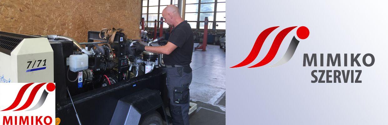 Diesel mobilkompresszor szerviz